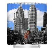 Flatiron Building Toronto 2c Shower Curtain