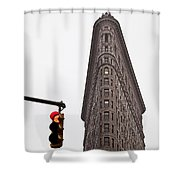 Flatiron Shower Curtain