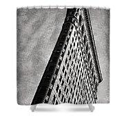 Flatiron II Shower Curtain