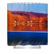 Flatrock Dam Shower Curtain