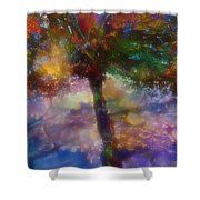 Flavours Of Autumn Shower Curtain