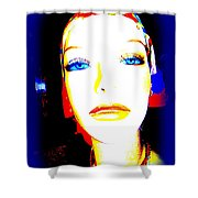 Flawless Face Shower Curtain