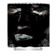 Flaws Of Faith  Shower Curtain