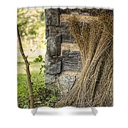 Flax Shower Curtain by Heather Applegate