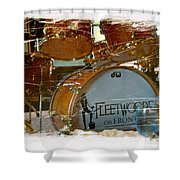 Fleetwood's Drums Shower Curtain