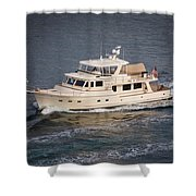 Fleming Yacht 2 Shower Curtain