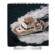 Fleming Yacht's Corvette Shower Curtain