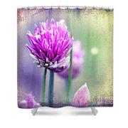 Fleurs De Oboulette Shower Curtain