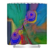 Fli D3signs 15 Shower Curtain