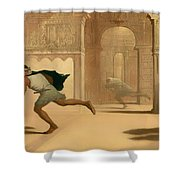 Flight And Pursuit Shower Curtain