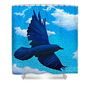 Flight Shower Curtain