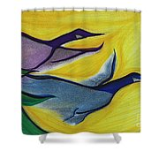 Flight By Jrr Shower Curtain