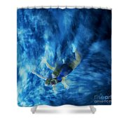 Flight For Two 2 Shower Curtain
