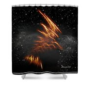 Flight Of The Eagle - Featured In Comfortable Art And Spect Artworks Notecard Possibilities  Shower Curtain