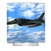Flight Of The Falcon Shower Curtain