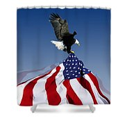 Flight To Freedom Shower Curtain