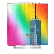 Flights Of Fantasy Shower Curtain