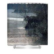 Flint River 28 Shower Curtain