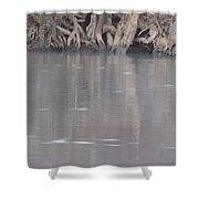 Flint River 6 Shower Curtain