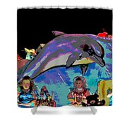 Flippers Shower Curtain