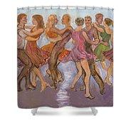 Flirtation Reel Shower Curtain