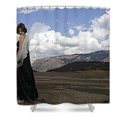Flirty Fairy Shower Curtain