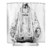 F�lix Varela Y Morales (1788-1853) Shower Curtain