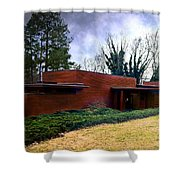Fllw Rosenbaum Usonian House - 1 Shower Curtain