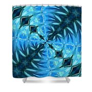 Float 2 Pattern Shower Curtain