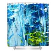 Float 3 Shower Curtain