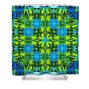 Float 3 Excerpt Design Shower Curtain