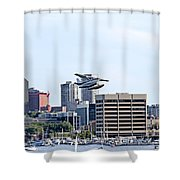 Float Plane Shower Curtain