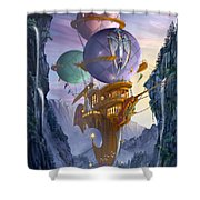 Floatilla Shower Curtain