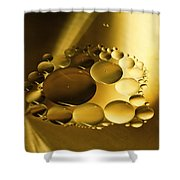 Floating Beauty Shower Curtain