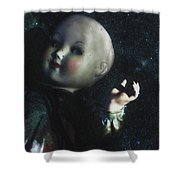 Floating Doll Shower Curtain