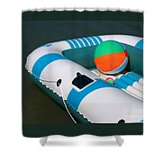 Floating Fun Shower Curtain