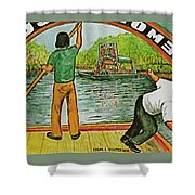 Floating Gardens Xochimilcho Mexico Shower Curtain