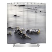 Floating In The Sea Shower Curtain