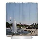Floating Memories Shower Curtain