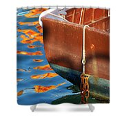 Floating On Blue 11 Shower Curtain