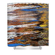 Floating On Blue 12 Shower Curtain