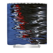 Floating On Blue 14 Shower Curtain