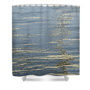 Floating On Blue 17 Shower Curtain