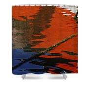 Floating On Blue 26 Shower Curtain