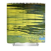 Floating On Blue 27 Shower Curtain