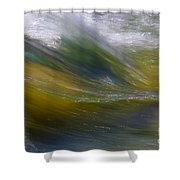 Floating River 2 Shower Curtain