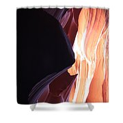 Floating Sandstone Shower Curtain