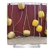 Floats At Chileno Bay Shower Curtain