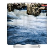 Flood Waters Shower Curtain