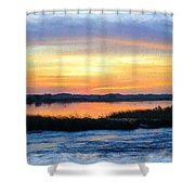 Flooded River Shower Curtain